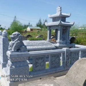 Khu lăng mộ đá đẹp, khu lăng mộ gia đình