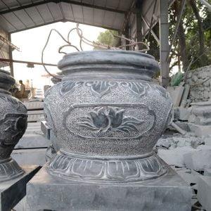 Tảng chân cột - tảng bồng đá chân cột gỗ nhà thờ họ, Chân tảng đá, tảng cột đá, chân cột đá nhà thờ