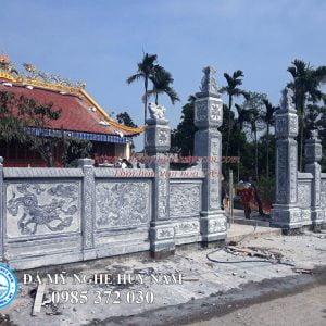 cổng đá đẹp cho nhà thờ họ