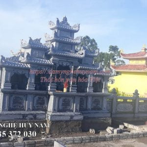lắp đặt lăng cánh mộ đá đẹp tại Nghệ An